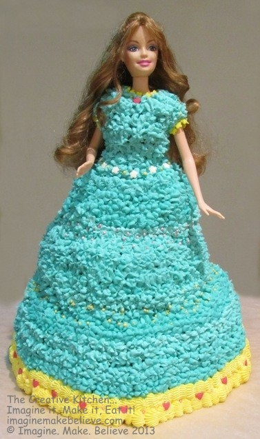 Dolly Varden Cake - Blue