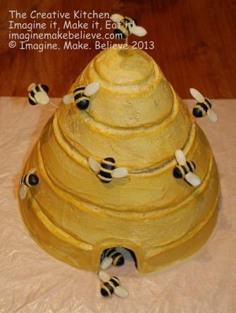 Bee Skep Cake