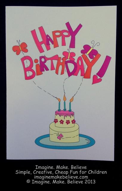 Happy Birthday - Girl