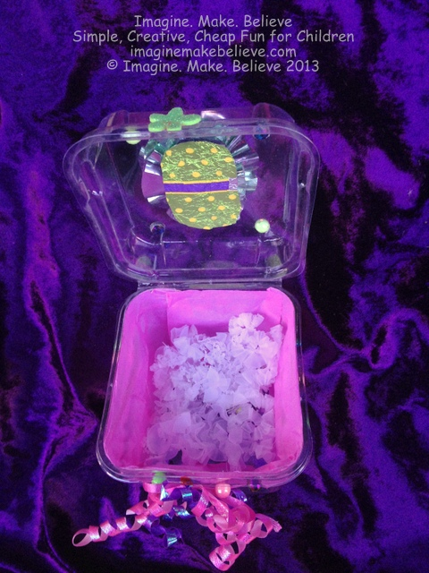 Jewellery or Treasure Box Sample