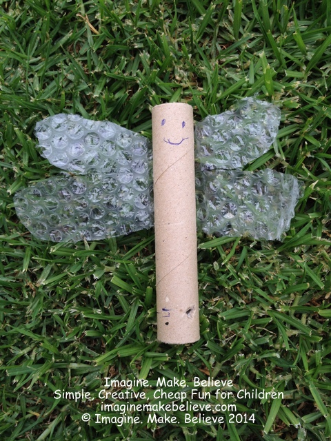 Recycle Box - Make A Bug - Dragonfly