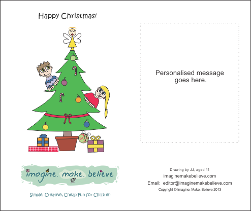 Christmas Card - Christmas Tree