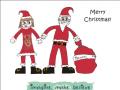 Christmas Card - Mr & Mrs Santa Claus
