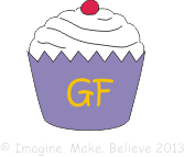 Cupcake, gluten free, coeliac, imagine make believe, kids, party