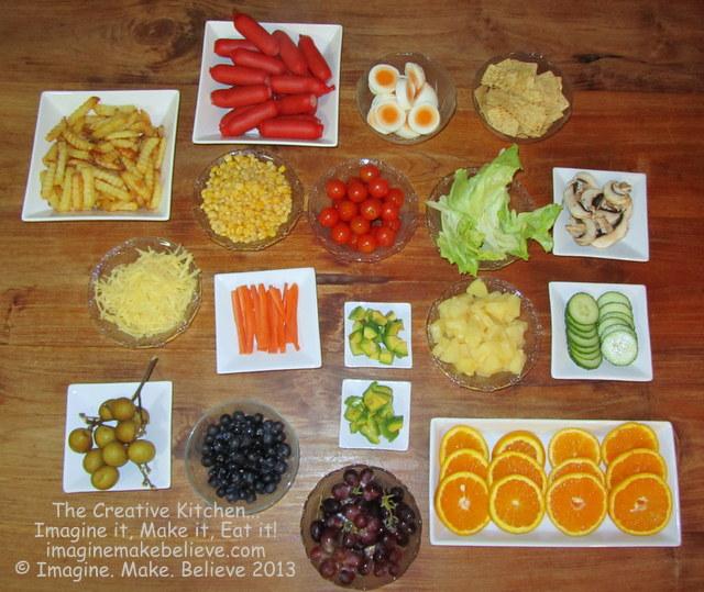 Gluten free, buffet, smorgasbord, smorgasboard, food, recipe