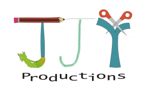 JJY Productions logo white background