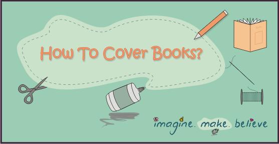 book covering children tutorial
