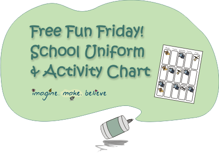 Back to School, Free, Children, uniforms chart
