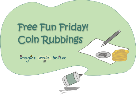 Coin Rubbings, pencil rubbing, frottage, tutorial