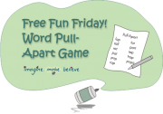 Word Pull-Apart Game,