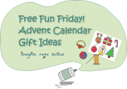 Christmas Advent Calendar Gift Ideas - Imagine. Make. Believe, advent, calendar, gifts, trinkets, goodies, ideas