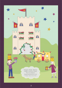 Royal Picture - Imagine. Make. Believe, magazine, children, activity, colouring, coloring, theme, carriage, castle, prince, princess
