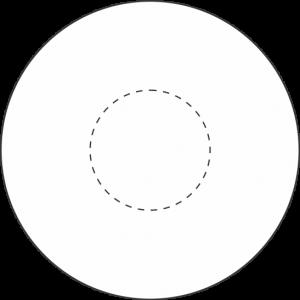 Running Stitch Circle