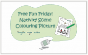 Nativity Scene Colouring Picture, children, colouring sheet, nativity, Christmas, Mary, Joseph, Jesus, baby, manger, stable, star, chickens, hen, rooster, free