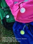 Back to School Bag Tags, bag tag, school, milk bottle lid, juice bottle lid, recycle, upcycle, children, free, tutorial, kids, back to school
