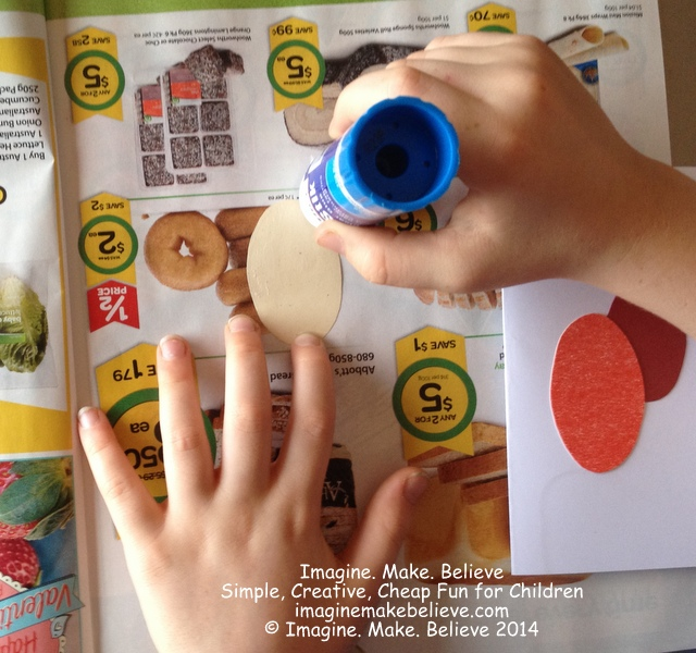 How to Make Less Mess With Glue - junkmail, glue, children, kids, craft, activities