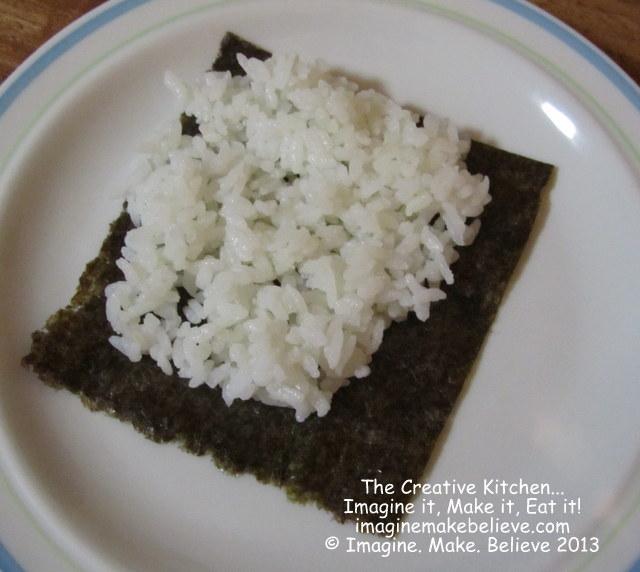 Gluten Free, dairy free, temaki sushi, Japanese, recipe, nori, rice